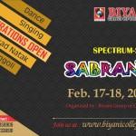 SABRANG 2016 Biyani College Fest