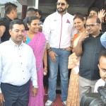 Bollywood Star Abhishek Bachchan visited Biyani Group of Colleges Jaipur