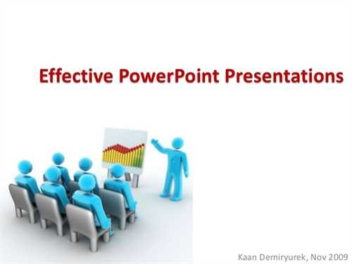 making a power point