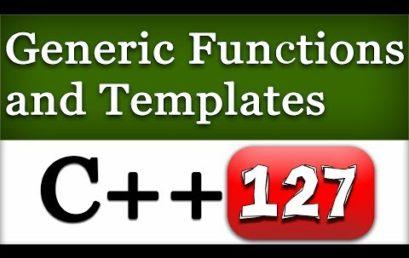 Generic Function in C++